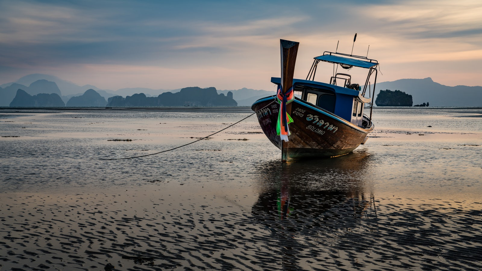 Longtail boat, Koh Yao Yai