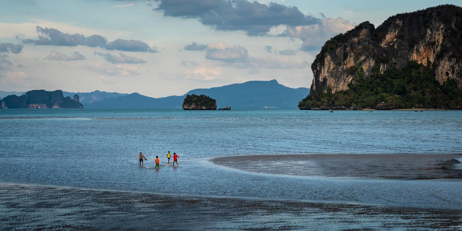 Low tide on Koh Yao Yai